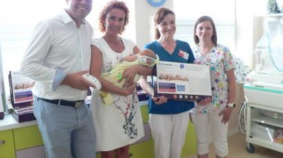 GIMAX pomáha novorodencom